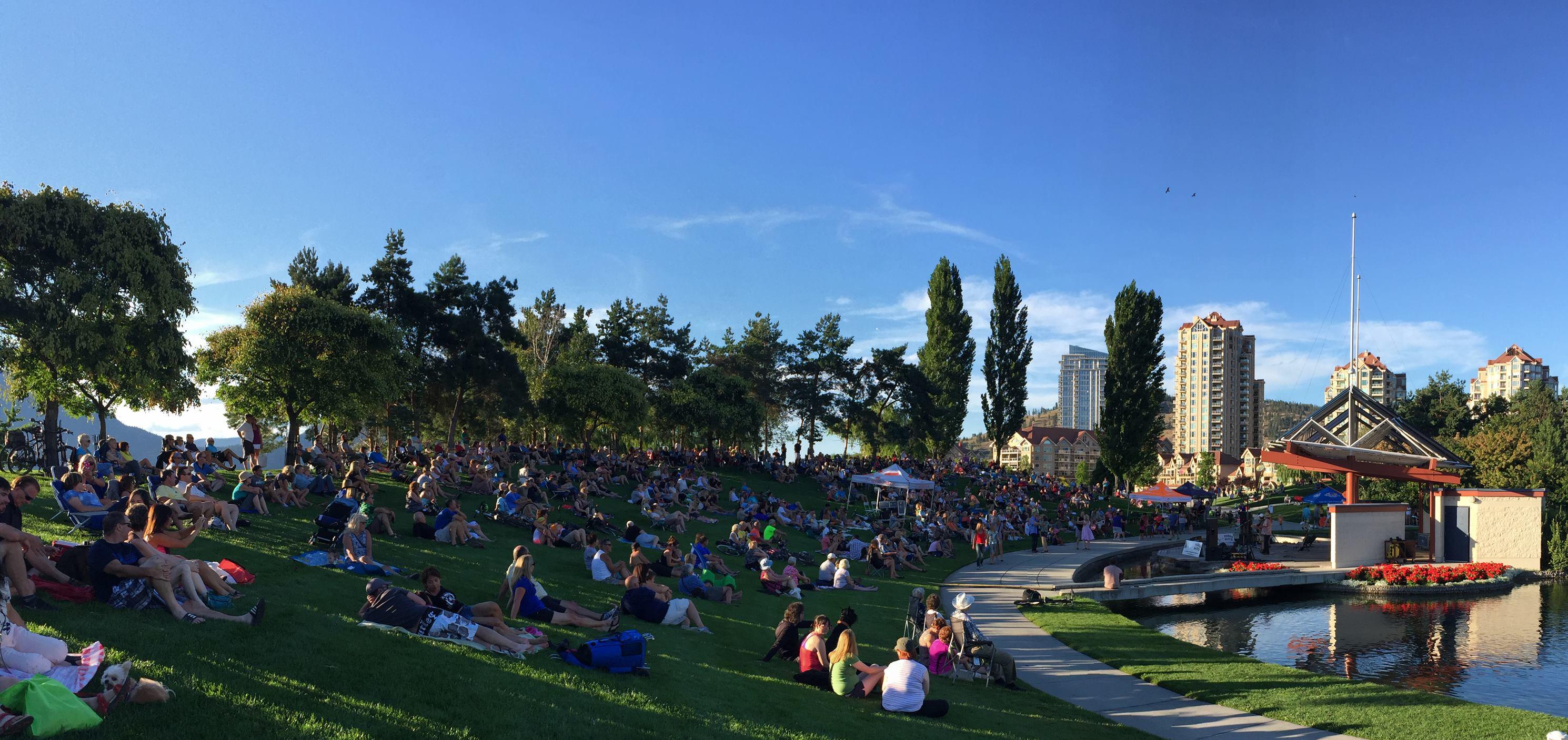 Parks Alive Concert