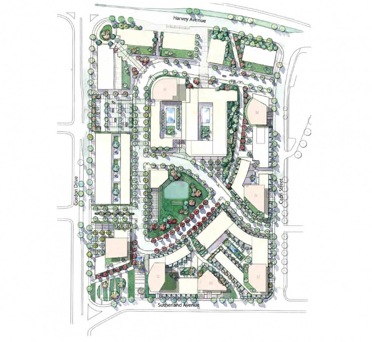2040 OCP - Form and Character - Zone 26 - Capri Centre Concept Plan
