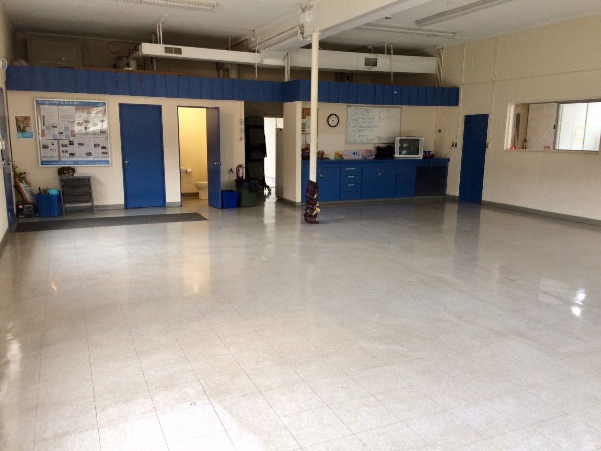 Cedar Creek Community Centre interior