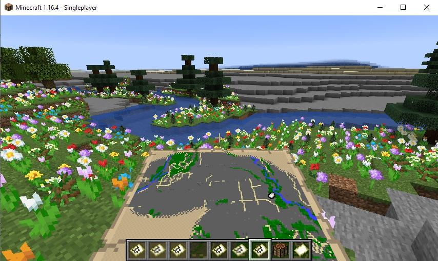 Minecraft City of Kelowna world example