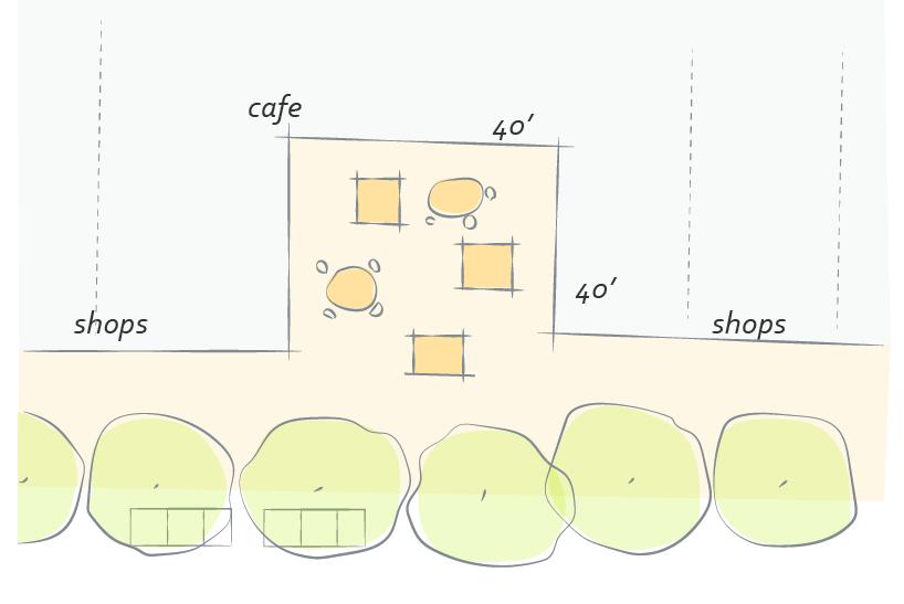 2040 OCP - Form Character - Figure 4 - Courtyard to break up mass