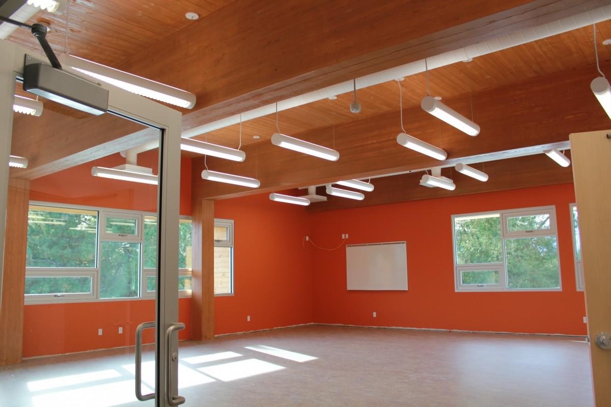 Parkinson Activity Centre interior