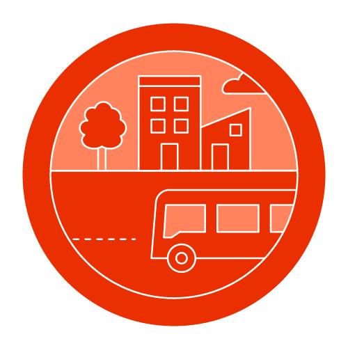 2040 OCP Pillar - Target Growth along Transit Corridors