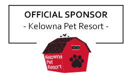 Official sponsor: Kelowna Pet Resort