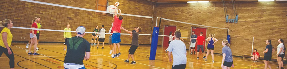 Volleyball at Parkinson Recreation Centre