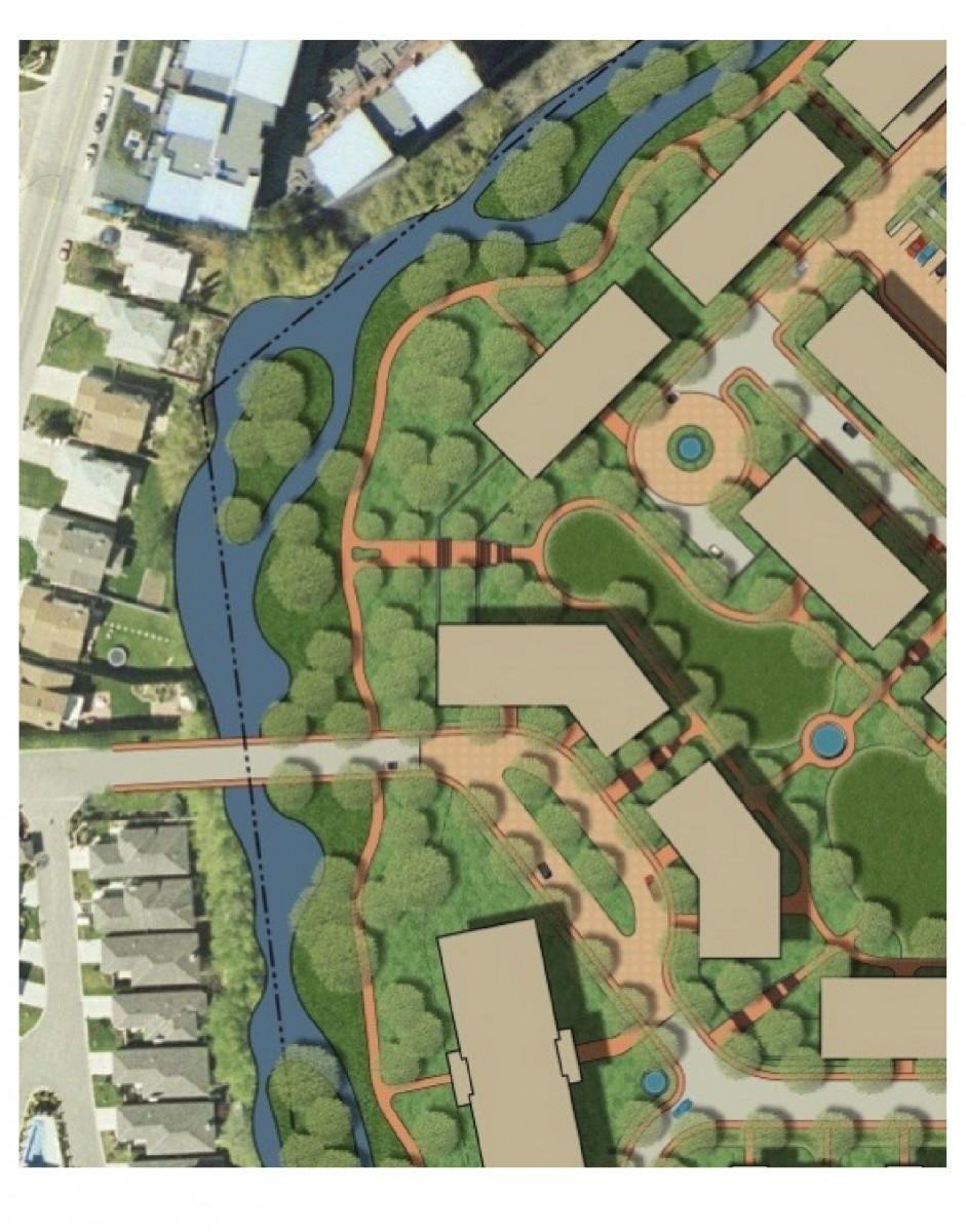 2040 OCP - Comprehensive Zone 24, Wilson Creek Green Space diagram