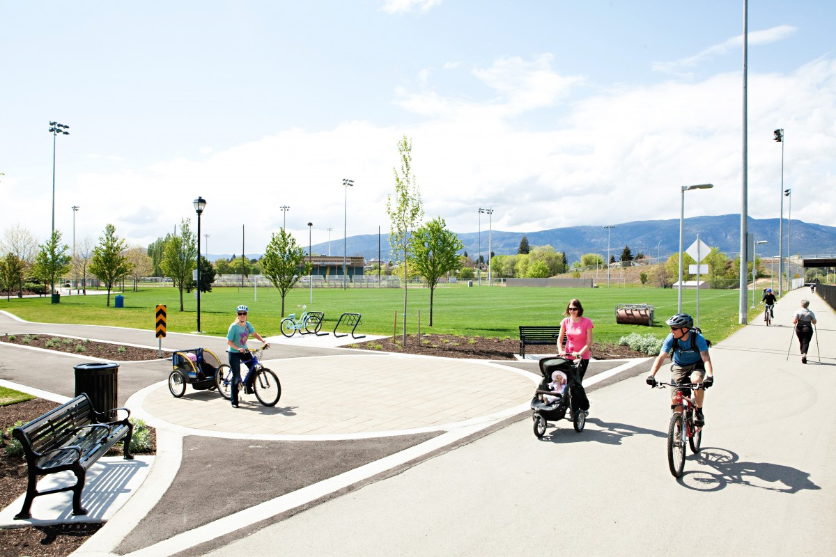 Bicycle routes | City of Kelowna