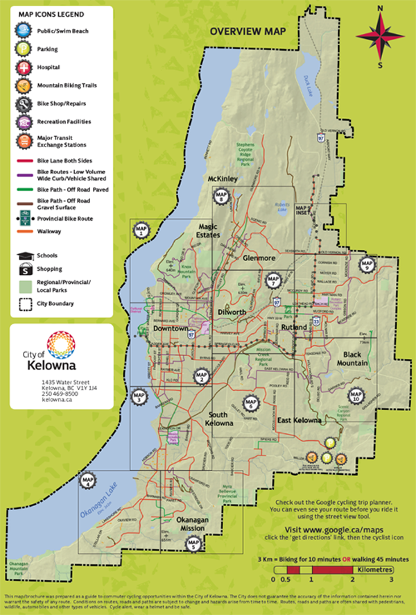 Pathway & Bicycle Network Map