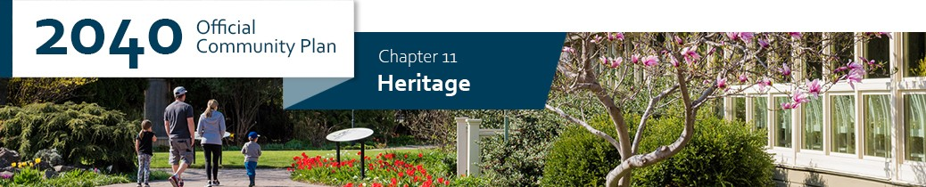 2040 OCP - Chapter 11 - Heritage chapter header, image of Guisachan Heritage Park