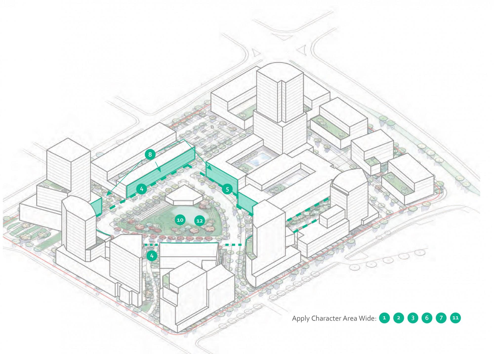2040 OCP - Comprehensive Zone 26 - diagram of Capri Central Park