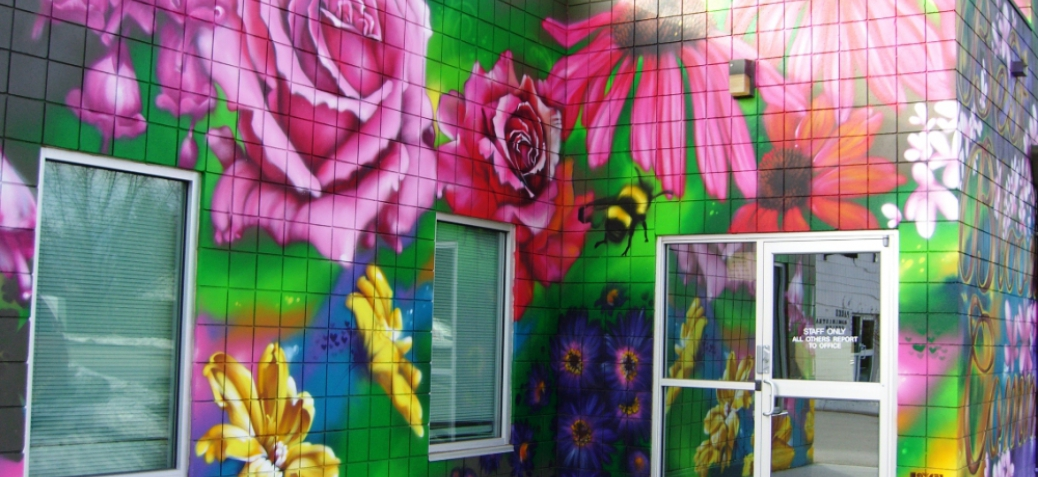 Communities in Bloom Mural