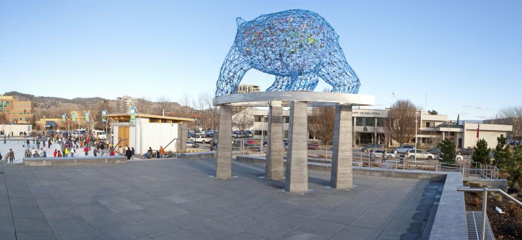 Kelowna Bear Sculpture