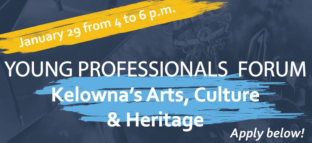 Cultural Plan Banner for Young Professionals Forum