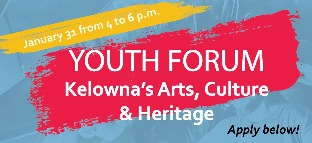 Cultural Plan Youth Fourm Banner