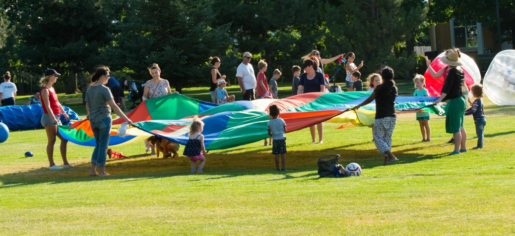 parachute game