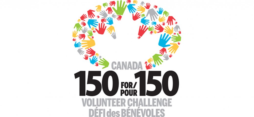 Canada 150 for 150 page banner