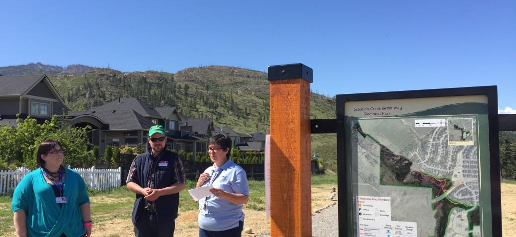 Lebanon Creek Trail Unveiling