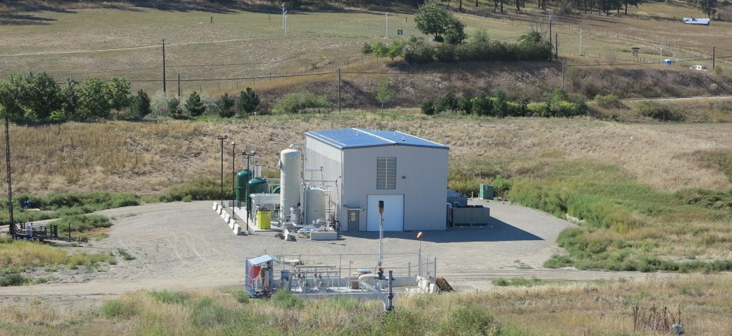 Fortis BC Biogas plant and Landfill flare