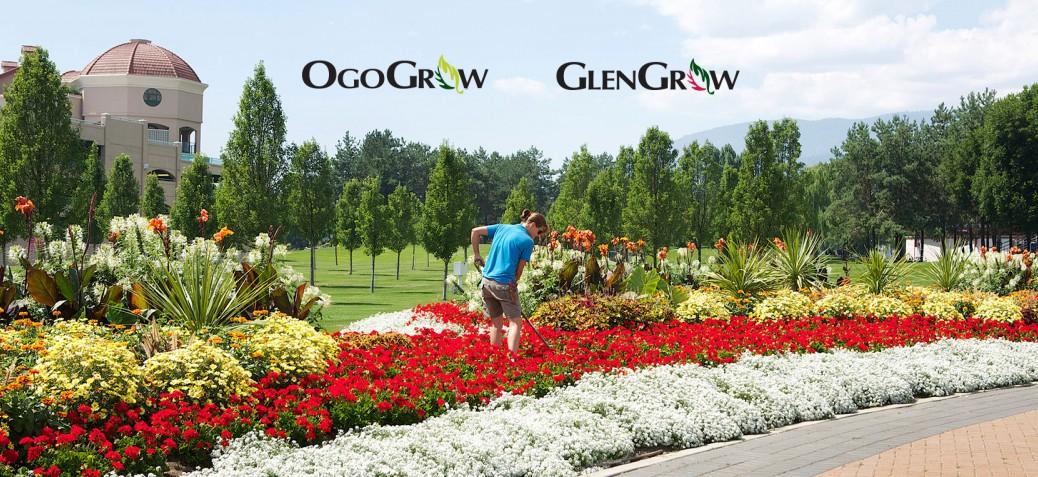 Garden bed using OgoGrow