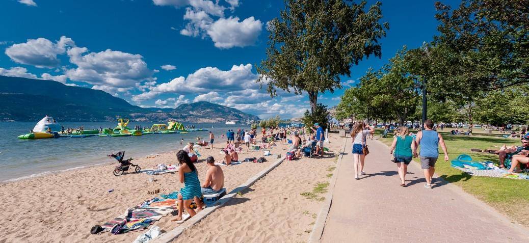 Beach in City Park