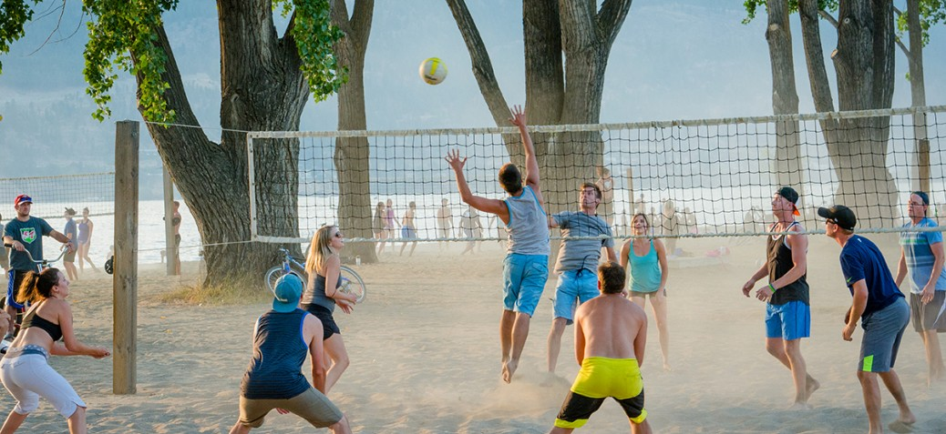 Beach Volleyball at City Park