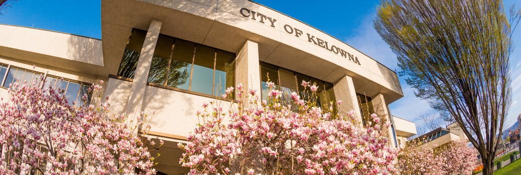 Kelowna City Hall exterior