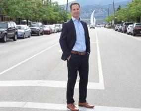 City Manager Doug Gilchrist on Bernard Ave