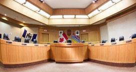 Kelowna city council chambers
