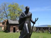 Father Pandosy Mission 150th Anniversary Commemorative Sculpture