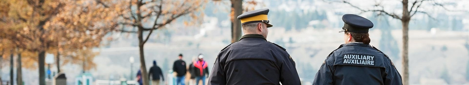 Kelowna Police officers on patrol