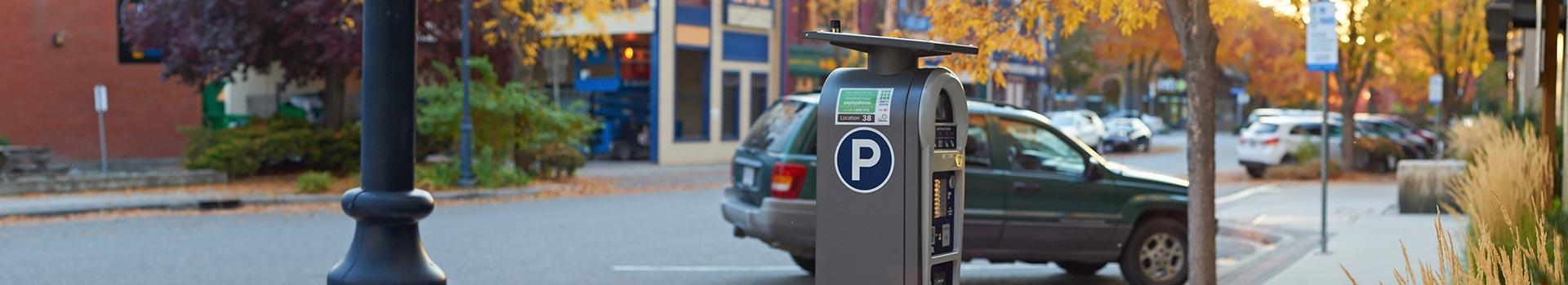 Kelowna parking meter