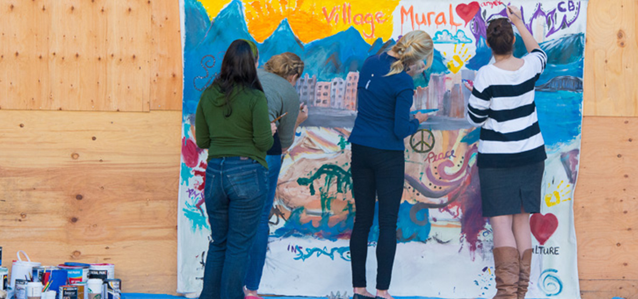 Culture Days Village mural