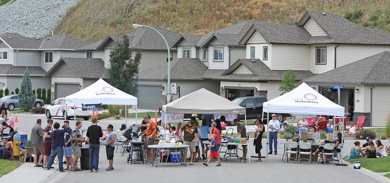 Strong neighbourhood community event